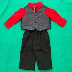 Baby Boy 4pc Suit 👔